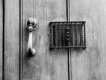 door, call, wood