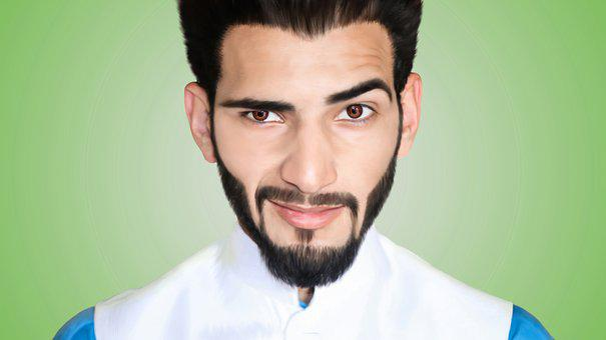 professional beard image