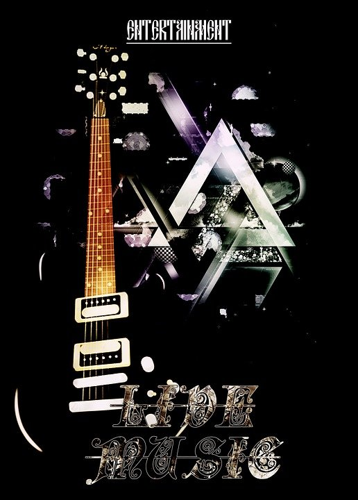 Plakat Guitor Musik · Kostenloses Bild auf Pixabay