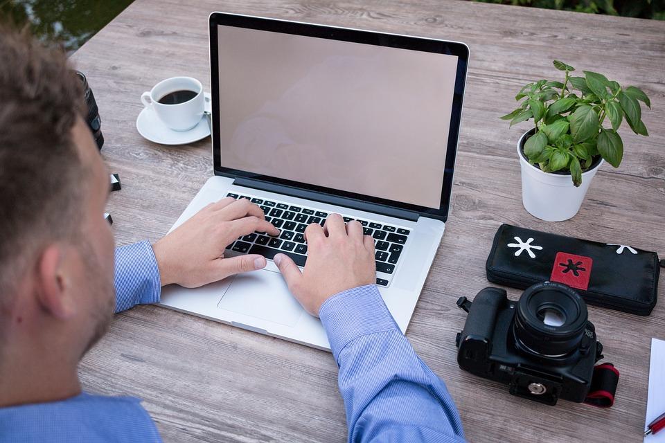 Homem De Negocios, Computador Portátil, Trabalhar