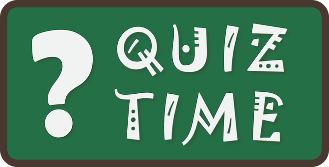 Quiz Time, Quiz, Time, Answer, Sign