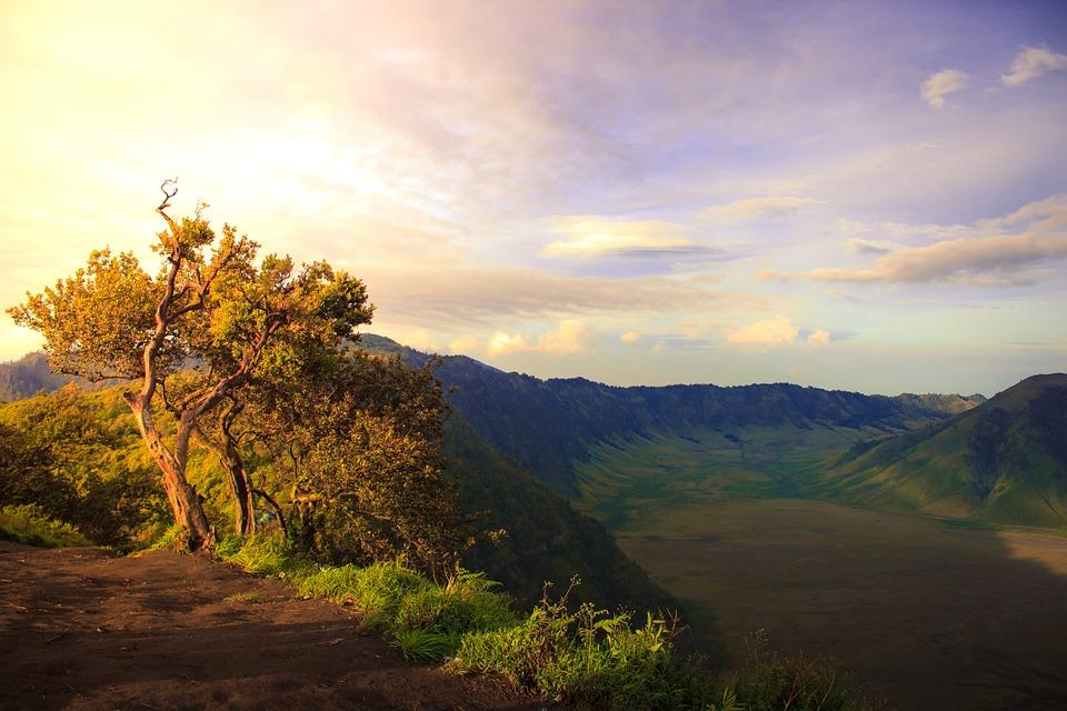 Gunung, Hill, Bromo, Alam, Lanskap, Puncak