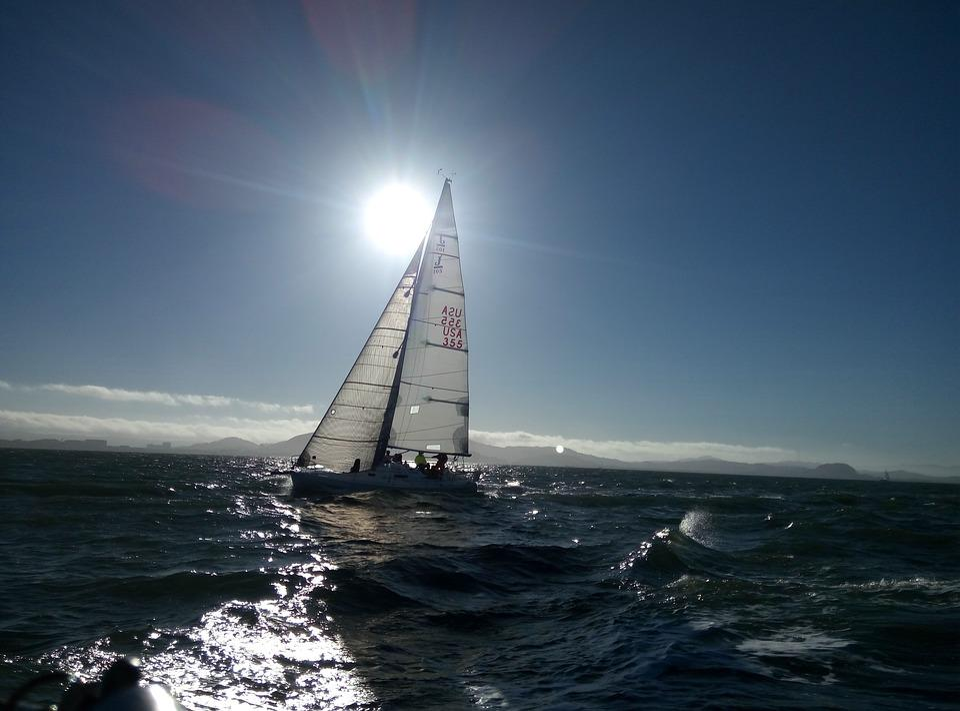 Sailing, Racing, Regatta, J-105, 105, J105, Water, Race