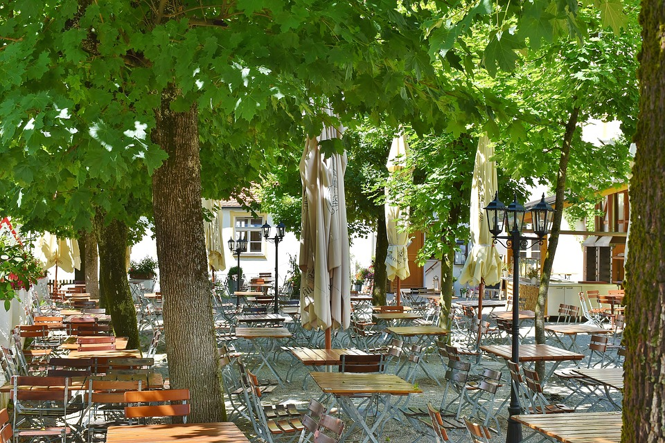 Beer Garden Chairs Dining Tables · Free photo on Pixabay