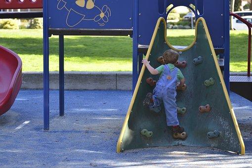 Playground, Boy, Fun, Kid, Park, Climb