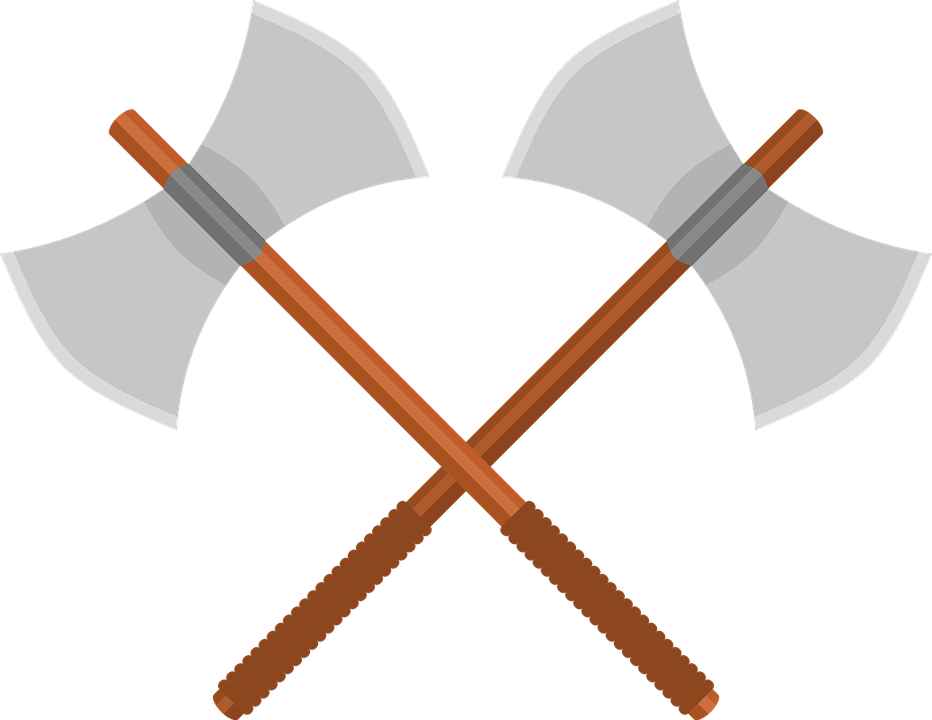 axe battle ax free vector graphic on pixabay