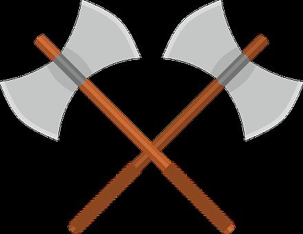 Axe, Battle Axe, Ax, Weapon, Fantasy