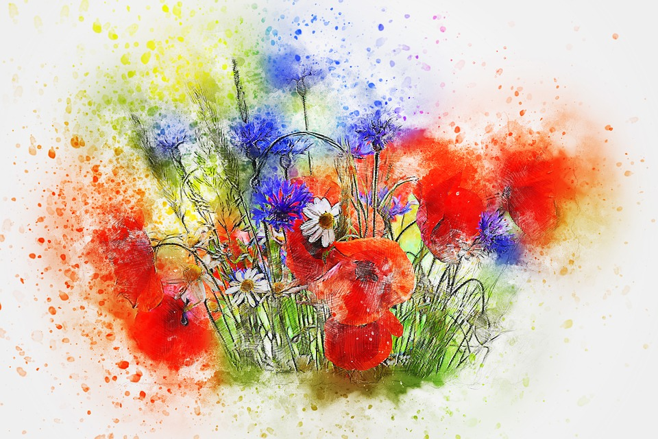 Flowers Bouquet Art 183 Free Image On Pixabay