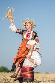 Mädchen, Bulgarisch, Volkstanz