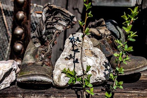 Weszłam w moje stare buty