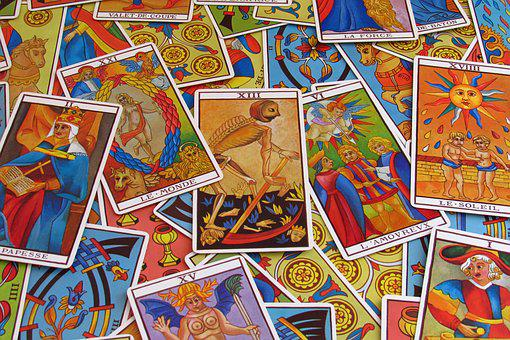 Fortune Telling, Tarot, Letters
