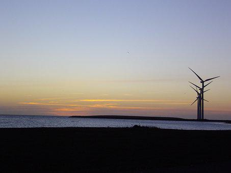 Wind Turbine, Background, Wind, Energy