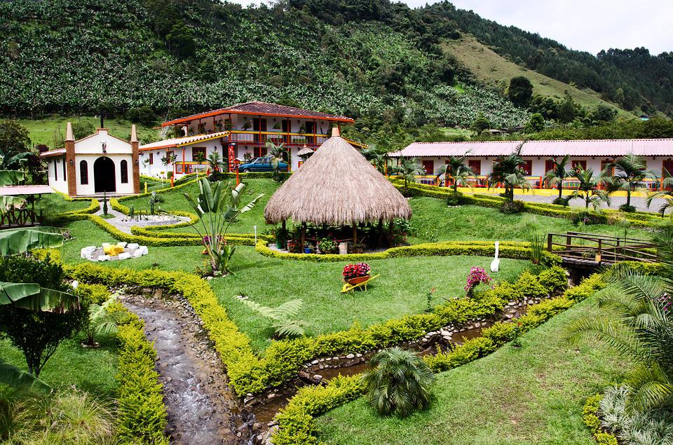 Colombia, Jardin, Coffee Zone, Coffee
