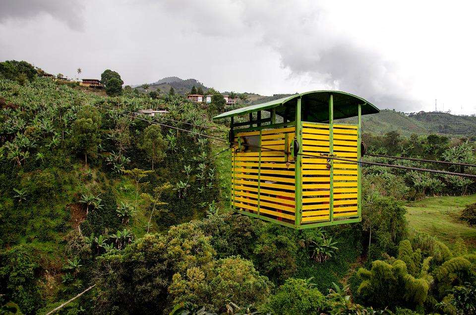 Colombia, Jardin, Coffee Zone, Coffee