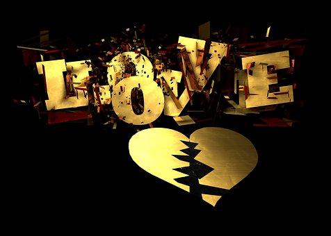 Heart, Broken, Broken Heart, Love