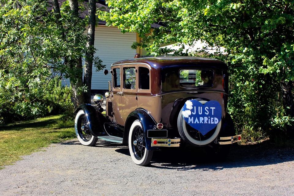 Wedding Car Old-Fashioned · Free photo on Pixabay