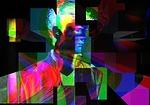 glitch, distortion