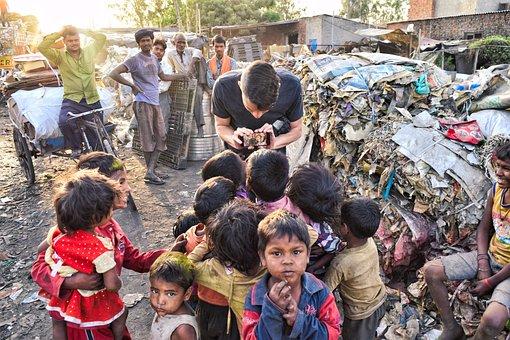 Schlecht, Indien, Asien, Armut, Menschen