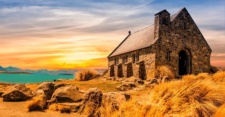 Kerk, Oude, Landschap, Architectuur, Geschiedenis