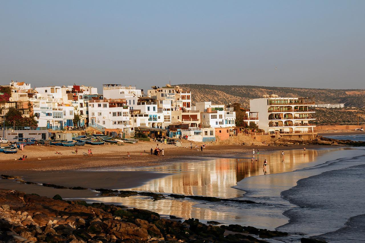 Фотографии побережья марокко