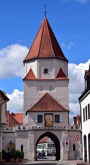 Stadttor, Altstadt, Historisch