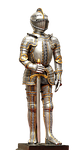 knight, armor, middle ages