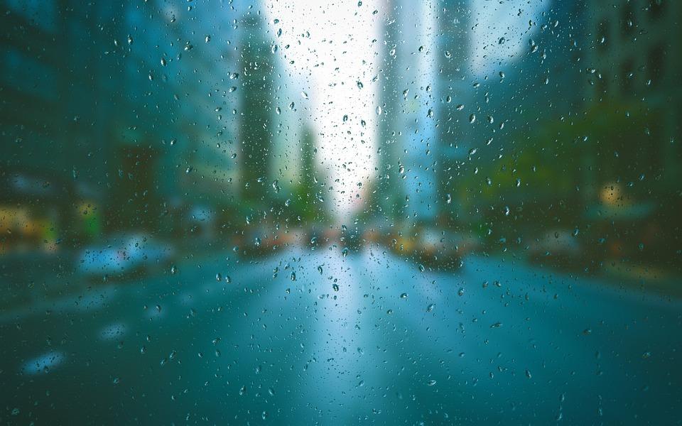 Yağmur Sokak şehir Arka Pixabayde ücretsiz Fotoğraf