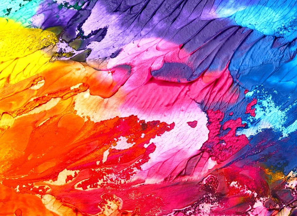 Abstract, Art, Background, Paint, Texture, Colorful