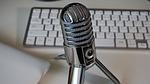 microphone, keyboard, podcast