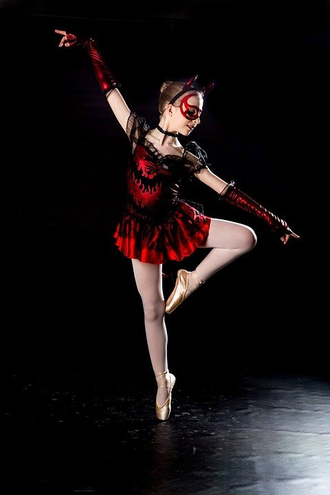 ballet devil dance black 183 free photo on pixabay