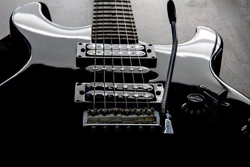 Guitare, Guitare Électrique, Cordes