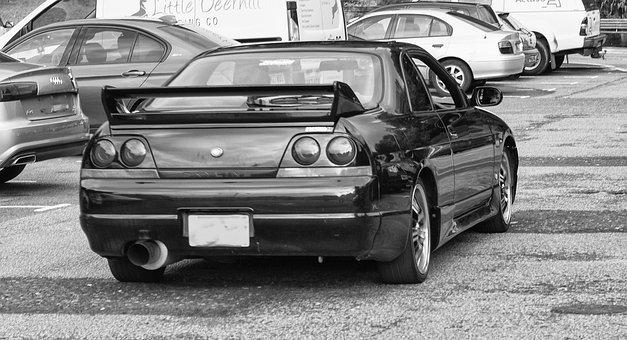 Nissan, Car, Vehicle, Automobile, Speed