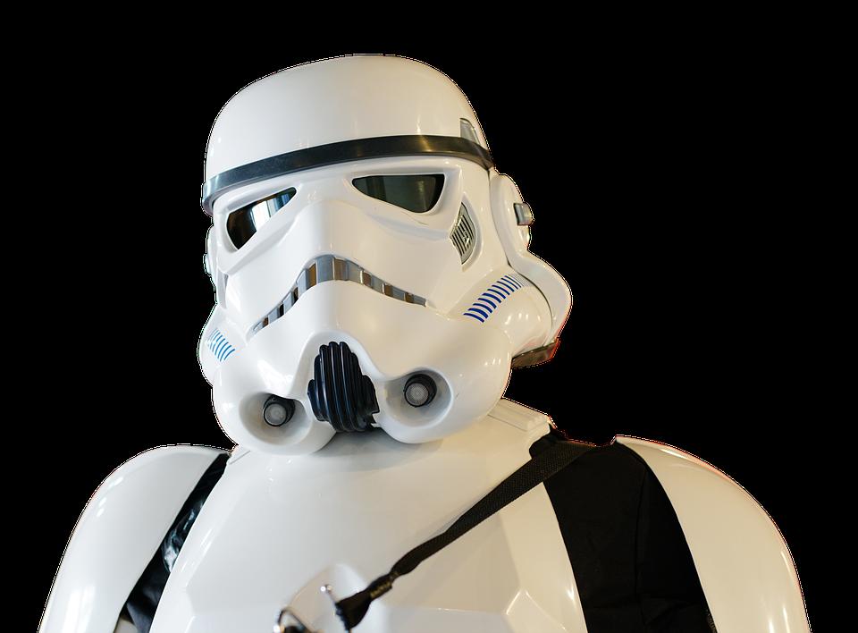 Hoffentlich könnt ihr besser zielen als die legendären Sturmtruppen aus Star Wars!