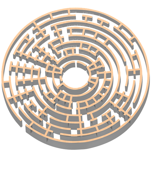Maze 3D Gold · Free Image On Pixabay