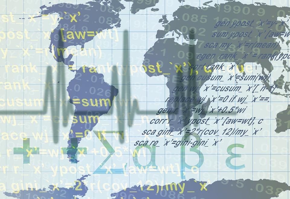 Angka, Statistika, Uang, Dunia, Benua, Bumi, Matematika