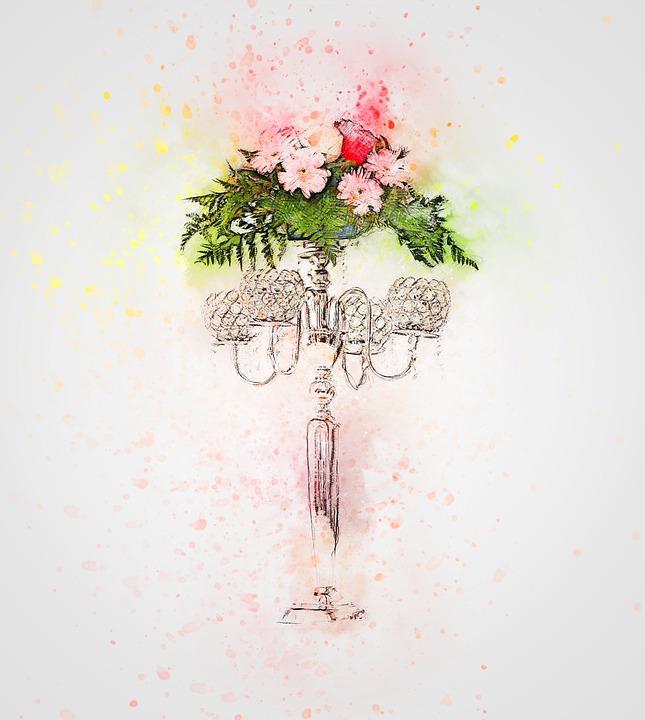 Bunga Mawar Vas Gambar Gratis Di Pixabay