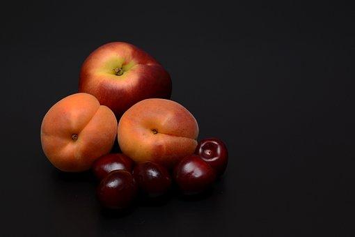 Apricots, Nectarine, Cherries