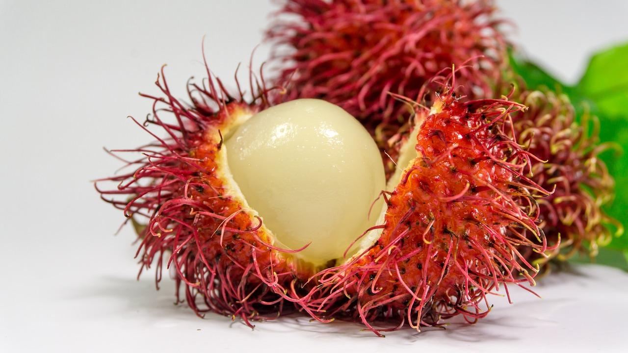 Rambutan Fruit Background - Free photo on Pixabay