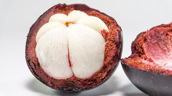 Mangoustan, Fruits, Maintenez, Main