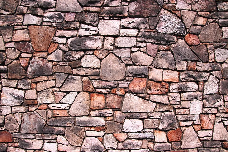 pared de piedra la pared piedra textura antigua