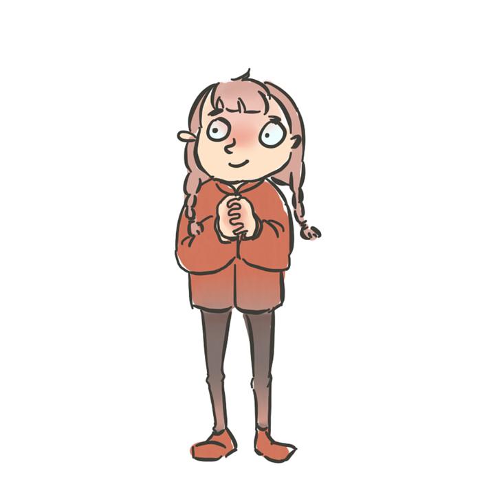 dibujos animados chicas masajistas