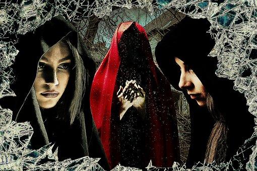 Fantasy, Witches, Mystic, Gothic