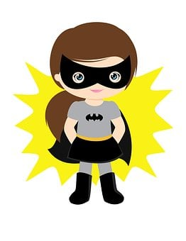 Batgirl, Girl, Super, Superhero, Hero
