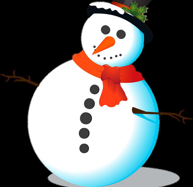 Schneemann Zylinder Schal · Kostenlose Vektorgrafik auf Pixabay