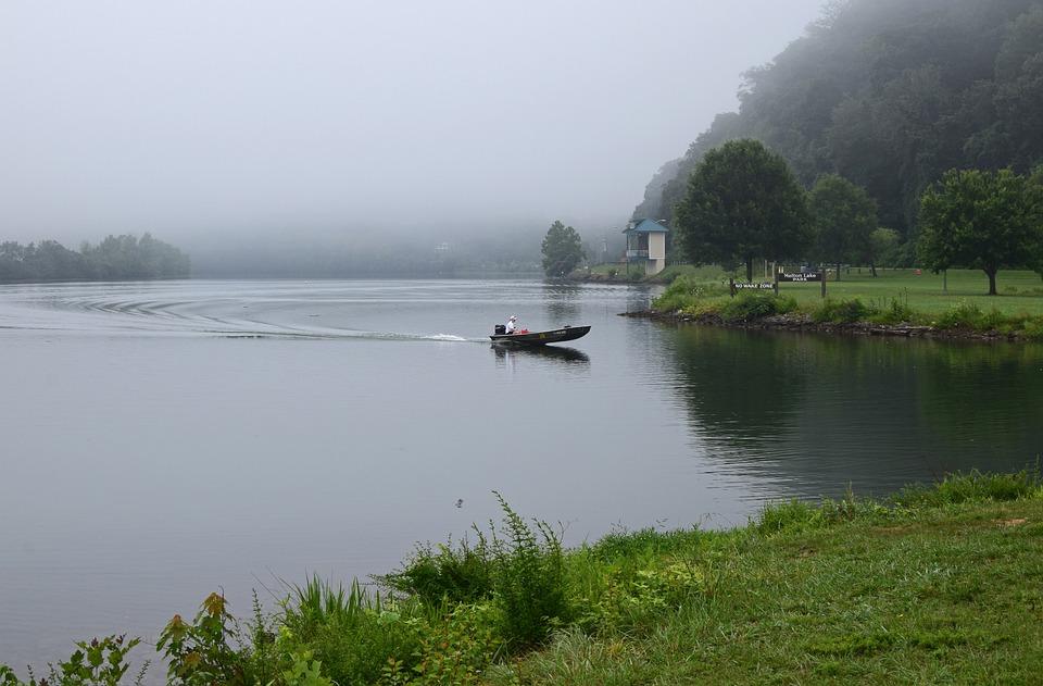 Boaterの霧 メルトンレイクパー...