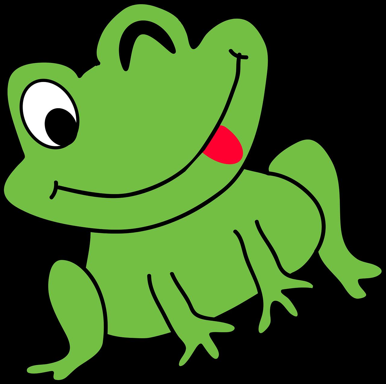 Kartun Katak Lucu Gambar Vektor Gratis Di Pixabay