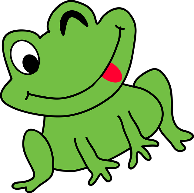 Cartoon frog - photo#31