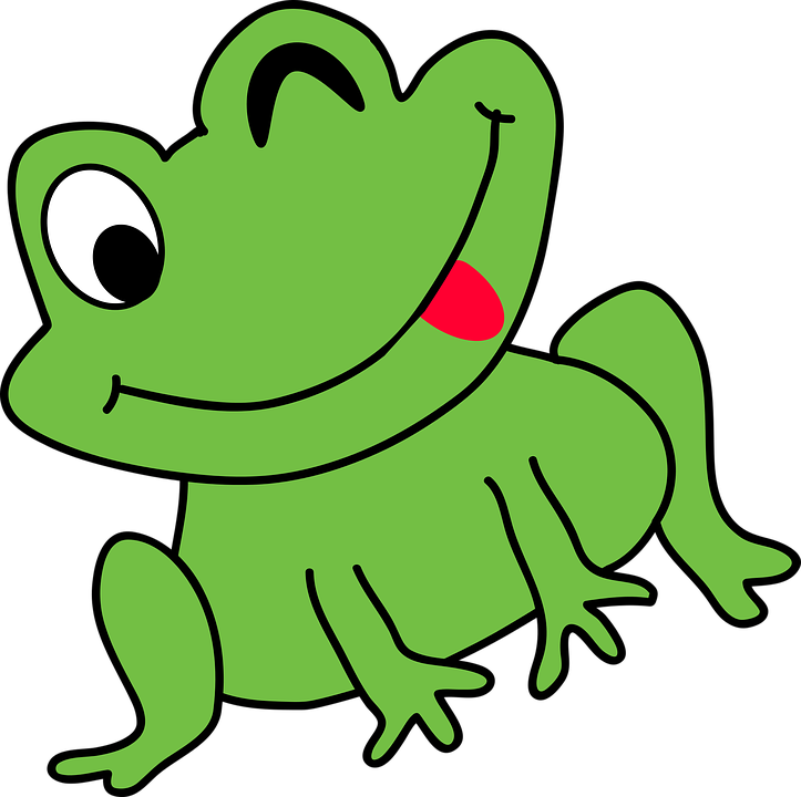 cartoon frog funny free vector graphic on pixabay