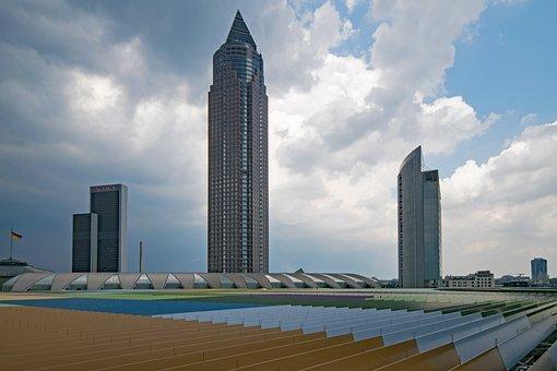 Skyline Plaza, Frankfurt, Hesse, Germany