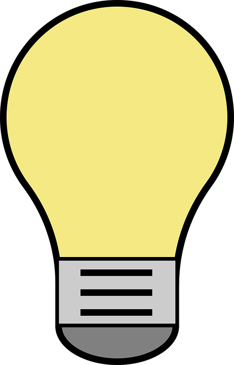 lightbulb vector yellow free vector graphic on pixabay rh pixabay com light bulb icon vector vector light bulb clip art